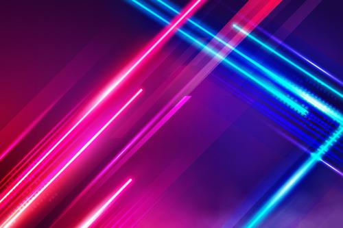 Two color cross line background vector