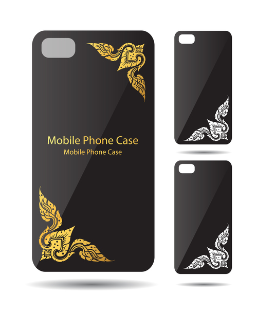 Art deco pattern phone cases cover vector