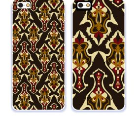 Art pattern phone cases cover vector