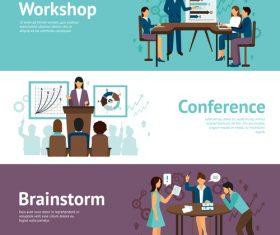 Brainstorm flat concept vector