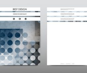 Brochure layout vector