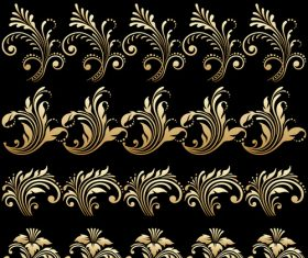 Carved design decoration vector