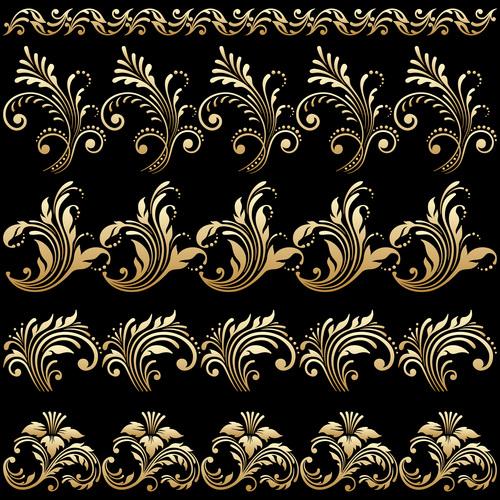 Carved design decoration vector