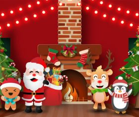 Christmas card vector you will love