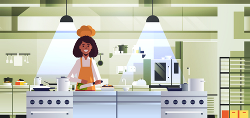 Cooking lecture vector