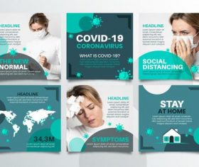 Daily protection against COVID-19 vector