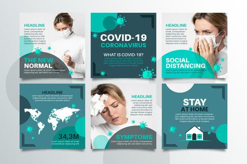 Daily protection against COVID 19 vector