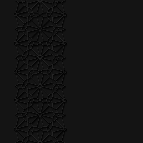 Decorative stripes pattern vector