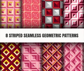 Geometric color seamless pattern vector