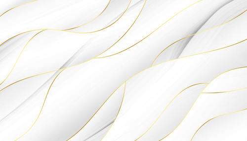 Gold foil vector on white background
