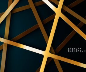 Golden table abstract background vector