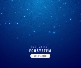 Innovative ecosystem vector