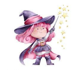 Little magician vector