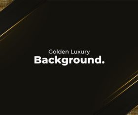 Luxury golden abstract background vector