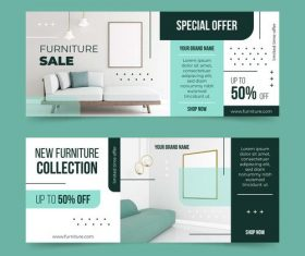 New furniture collection vector