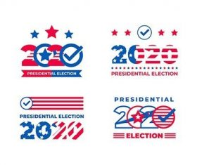 Pack 2020 Presidential Election USA Logos