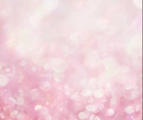 Pink sparkles gradient bokeh background vector