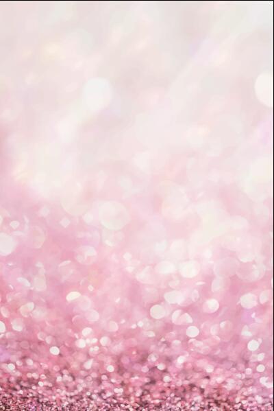 Pink sparkles gradient bokeh background vector