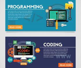 Programming flat concept vector