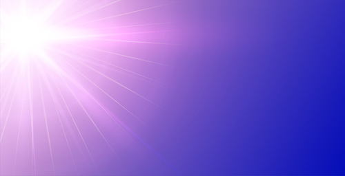 Purple rays background vector