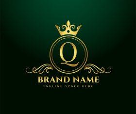 Q company logo vector