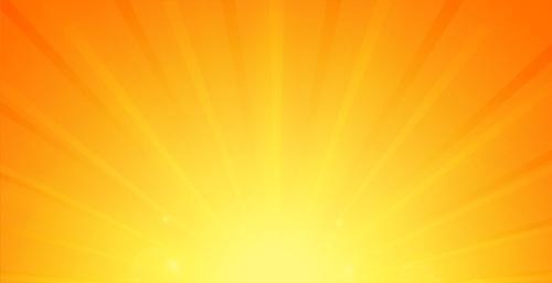 Ray of light vector