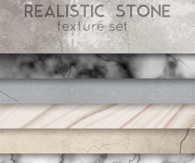 Realistic stone texture vector