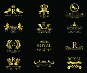 Royal place logo vector