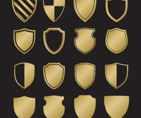 Shield heraldry vector