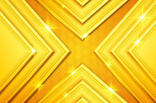 Shiny golden abstract background