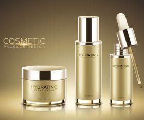 Super cream cosmetic advertisement vector