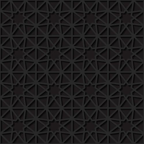 Superimposed cross grid pattern vector