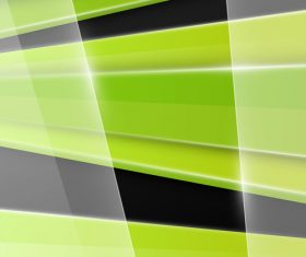 Transparent glass and green black background vector