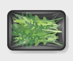 Vegetable vacuum preservation vector