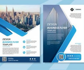 flyer template brochure vector