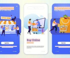 Buy online vector