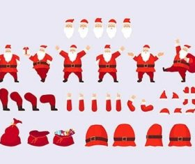 Constructor Santa Claus to Make Your Santa