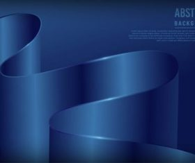 Dark blue luxury dynamic background vector