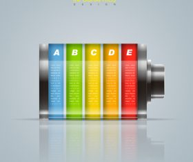 Design information background vector