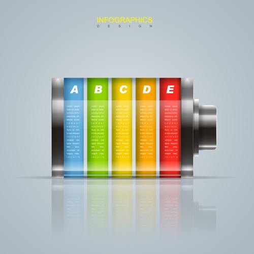 Design information background vector