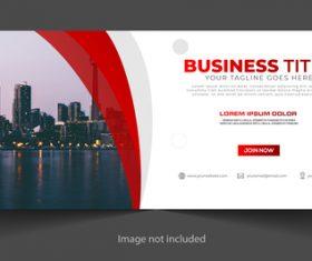 Development business template vector