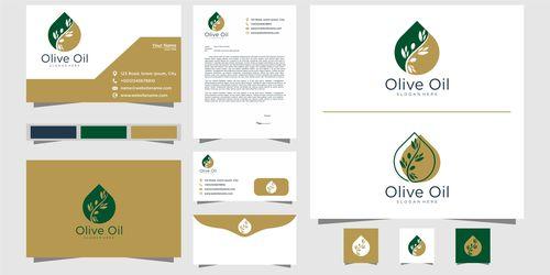 Food processing company logo design vector