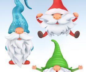 Gnomes icon vector