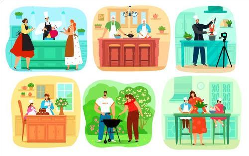 Good life illustration vector