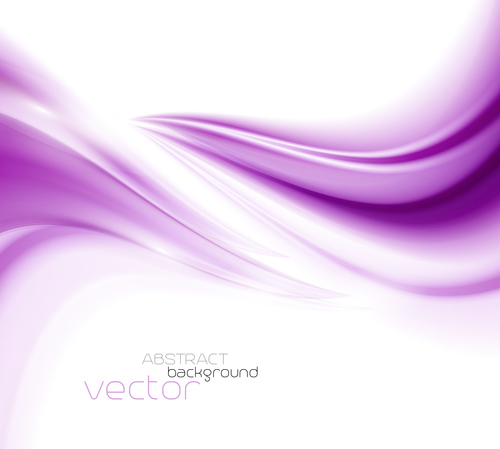 Gradient purple dynamic abstract background vector