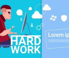Hard work vector