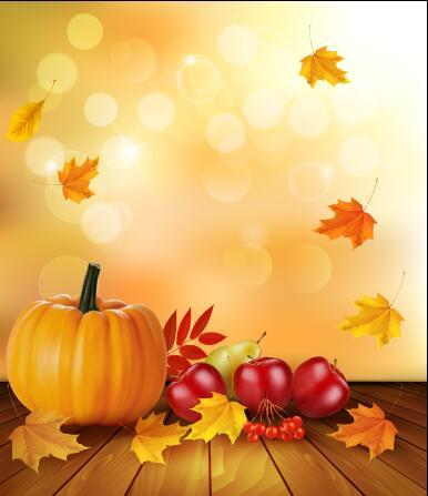 Harvest autumn vector