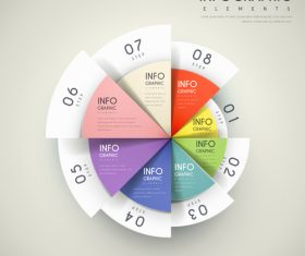 Infographic element options vector
