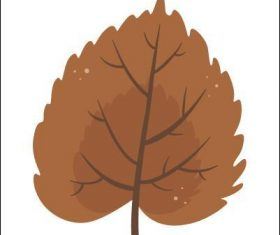 Mulberry leaf vector