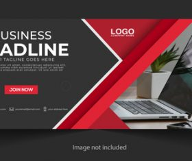 Notebook dot computer background business template vector